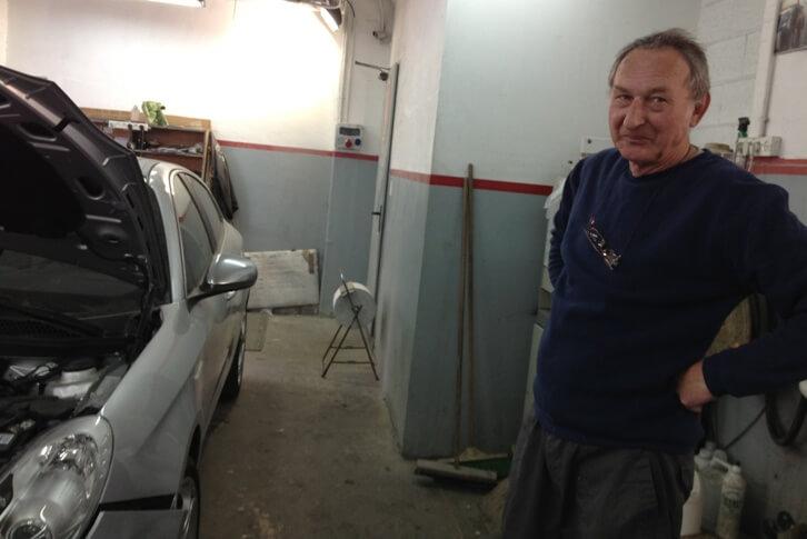 תמונות מהמוסך